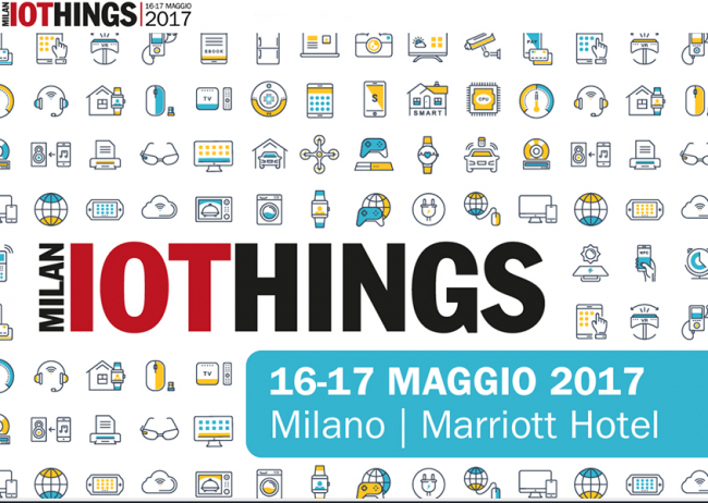 Luca Santini, CTO di Tailoradio, all'IoThings2017!