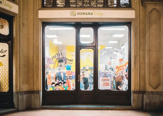 Il sound dei negozi Humana? Un progetto Tailoradio che guarda anche alla forza delle immagini!